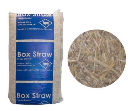 Słoma sucha podściółka 24kg - 800l pszenna cienka z zapachem